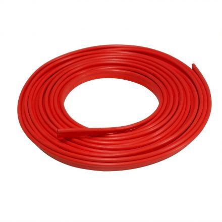 Lumision 16.4 FT (5 Meters) RED Flexible 3D DIY Automobile Car motor Interior Exterior Decoration Moulding Trim Strip Line (Red)