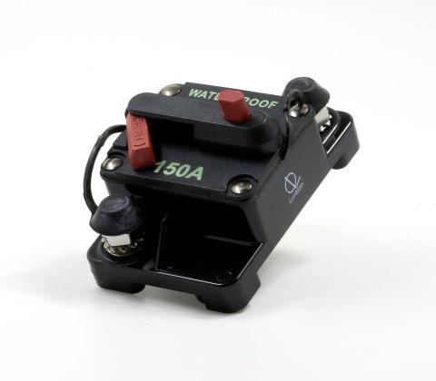 Lumision Waterproof Automotive Circuit Breaker Manual Reset 12-48VDC 150A