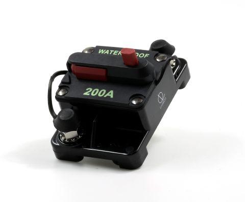 Lumision Waterproof Automotive Circuit Breaker Manual Reset 12-48VDC 200A